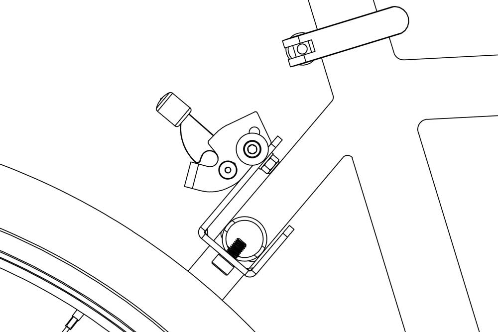 J-bracket on bicycle diagram 2