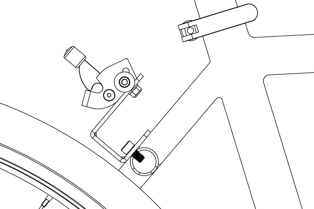 J-bracket on bicycle diagram 4